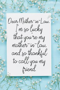 40 Perfect Things to Write in a Mother's Day Card Mother In Law Quotes, Mothers Love Quotes, Mother In Law Gifts, Mom Quotes, Family Quotes, Qoutes, Happy Mothers Day Wishes, Mothers Day Poems, Mother Poems