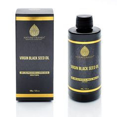 Pure Virgin Cold Pressed Ethiopian Raw Black Seed Oil Nature's Blends Nigella Sativa Oil, Organic Black Seed Oil, Cold Pressed Oil, How To Make Oil, Oils For Skin, Alcohol Free, The Balm, Seeds, Pure Products