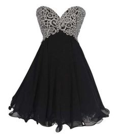 Short black prom dress plus size