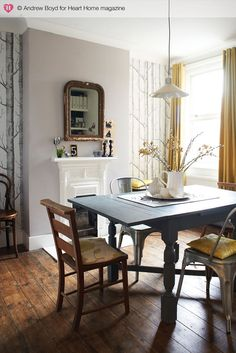 Home of stylist Marie Nichols, photographed by Andrew Boyd for Heart Home mag