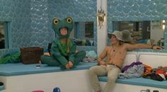 Big Brother Updates @BB_Updates  ·  17h Hayden- Girl, are you a frog? Cause you make me ribbit... Nicole- Oh my gosh. Stop, Hayden #BB16