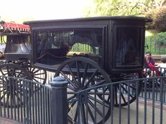 Outside the Haunted Mansion at Disney World