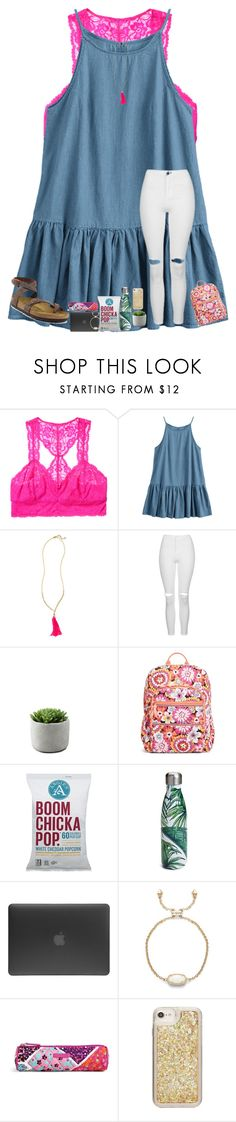 """""""been so busy w/ school !!"""" by arieannahicks on Polyvore featuring Intimately Free People, Lilly Pulitzer, Topshop, Vera Bradley, S'well, Incase, ban.do and Birkenstock"""