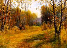 С.Курицын. Осеннею порой