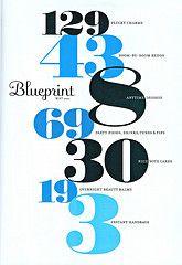 Blueprint magazine contents page