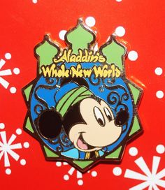 Disney Pin MICKEY Aladdin's Whole New World Tokyo BB
