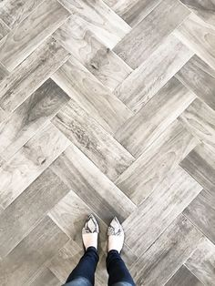 (Tile above: Dal Tile Emblem in Grey) We get tons of questions about our favorite wood-look tile, so we have pulled together some of our top picks for you! 1.