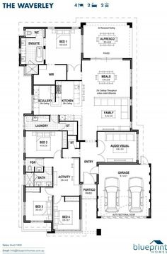 Floorplan house plans pinterest phoenix home and house this display home whitby offers 5 star luxury in 280 square metres of living space malvernweather Choice Image