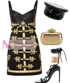 On the #Blog Now! ��in #Bio Abitofeverythang.com Which R&B Diva's video look is this inspired by? #MilitaryLooks #MilitantStyle #Music #RNB #Diva #Gold #Black #Embellished #Fashion #Style #Blogger #Blogging #Abitofeverythang #FashionBlog #StyleBlog #BeautyBlog #NYCBlogger #Stylish #StylishWomen #Hats #Handbags #Shopping #SpringStyle #FashionLooks #DailyFashion #FashionBomb #FashionInspiration http://butimag.com/ipost/1490908341555435275/?code=BSwxTzLFBcL