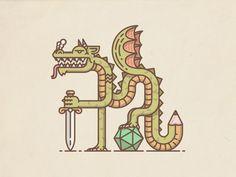 Pen & Paper Dragon
