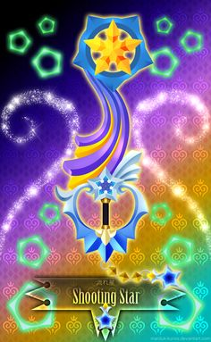 Keyblade Shooting Star by Marduk-Kurios