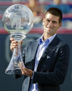 The Man! #1 in the World,year end Champ of 2012 Novak Djokovic
