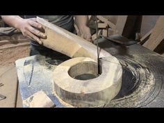 You Need To See To Know - Asia Carpenters Woodworking Techniques High Pole, Wooden Curved Awesome - YouTube