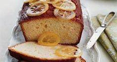 Lemon Pound Cake with Candied Lemon Slices
