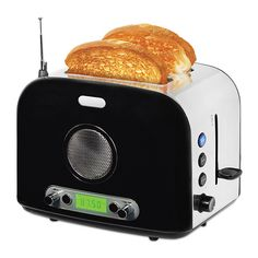 Heating up Pop Tarts has never been this entertaining or cool. The Toaster Radio…