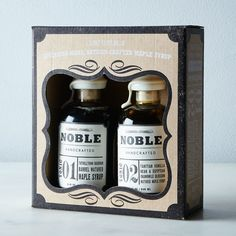 Noble Tonic Maple Syrup Gift Box (Set of 2) on Food52