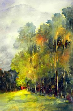 Beth Verheyden Watercolorist - Gallery of Paintings by Beth Verheyden