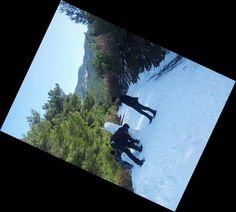 Izmir'in daglarinda, kardan adam yaptim.