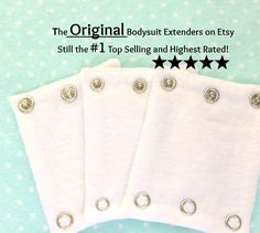 Sale! BABY BODYSUIT EXTENDERS/ Expanders. Add a measurement to your bodysuits. Additionally nice for cloth diaper wearers. - http://www.babies-clothes.info/sale-baby-bodysuit-extenders-expanders-add-a-measurement-to-your-bodysuits-additionally-nice-for-cloth-diaper-wearers.html