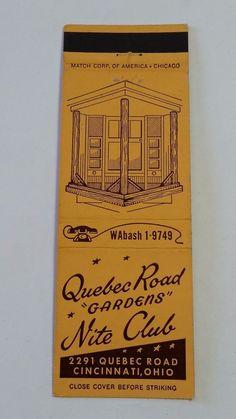 Nightclub, Quebec, Historical Photos, Cincinnati, Ohio, Lounge, Gardens, Collections, Bar