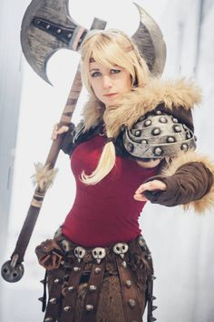 astrid how to train your dragon costume - Google Search