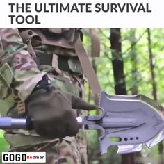 PATHWAY NORTH Camping Axe and Survival Shovel – Stainless Steel Multi-Tool Folding Shovel and Survival Hatchet – Equipment for Outdoor, Hiking, Hunting, Emergency, Backpacking