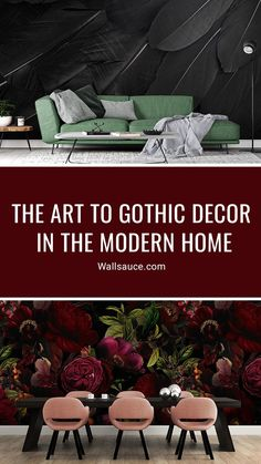 Gothic fashion and art may seem like ephemeral trends, but these subcultures are steeped in history. And what's interesting in the world of interiors is gothic design's multifaceted nature, drawing influences from across the centuries and undergoing many transformations through time. Yet however you look at it, it's timeless. Discover more from the Wallsauce blog! #wallpaper #wallsauce #homedecor