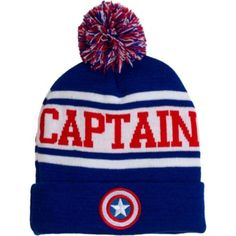 Captain America Beanie - Party City