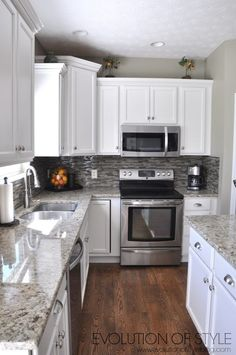 The Maple Kitchen Facelift Project. Small Kitchen RemodelingKitchen ...