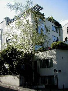André Lurçat, La maison Guggenbühl, 1926, 14 rue Nansouty, Paris.