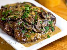 Slow Cooker Swiss Steak #SlowCooker #CrockPot #SwissSteakRecipe