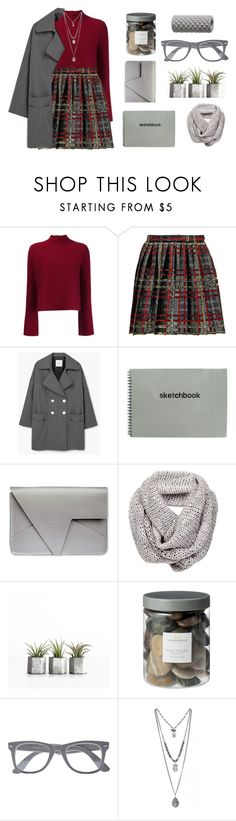 """""""""""mistakes are the portals of discovery"""" - James Joyce"""" by milkshakes-and-dogs ❤ liked on Polyvore featuring Proenza Schouler, Yves Saint Laurent, MANGO, Threshold, River Island and Renwil"""