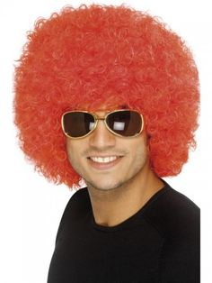 Red Clown Wig. possible disguise. issue would be where to find it
