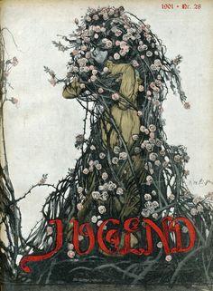 Jugend cover art- German art nouveau