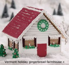 Must make gingerbread houses with my daughters this year. King Arthur Flour has the whole tutorial from start to finish!