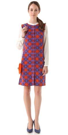 Tibi Nicola Shirtdress