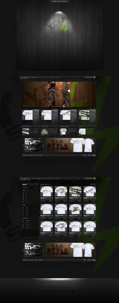 YourStyle webshop design