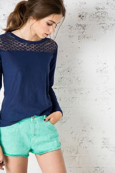 JERSEY LACE CANESÚ » NEW COLLECTION » Woman » Springfield Man & Woman