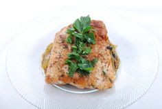 Herbed Salmon with Citrus Sauce