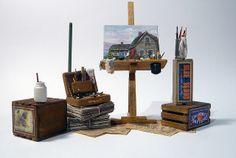 Art Studio by Marquis Miniatures, via Flickr