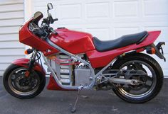 DIY high performance 72 volt electric motorcycle