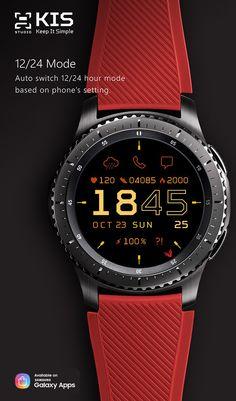 a7ada90b350 John S. Shih s Portfolio » Samsung Gear Watch Faces App Melhores Presentes