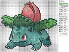 Ivysaur Pixel Art