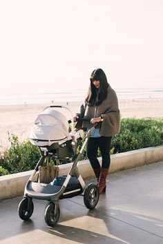 The Stokke Trailz stroller provides my baby with luxury and safety and me with peace of mind. Check out my other new-mom essentials on the blog!