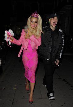 Rita Ora als Barbie