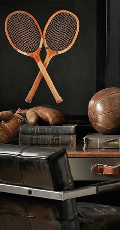 anbenna • Restorationhardware. com - 1920s Wooden Tennis...