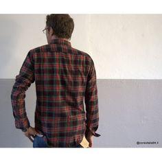 Camicia Cotone Flanella Check vintage-55