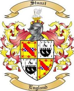 Image result for stuart coat of arms family crest british