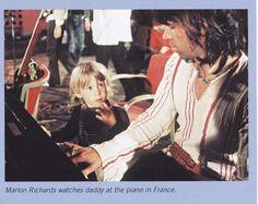 Keith Richards Family