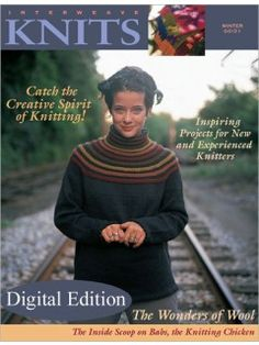 Interweave Knits, Winter 2000: love this jumper's style and fit
